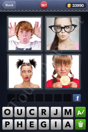 4 Pics 1 Word Level 361 Solution