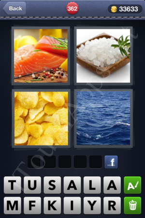 4 Pics 1 Word Level 362 Solution