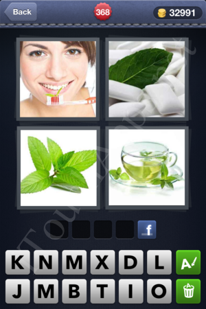 4 Pics 1 Word Level 368 Solution