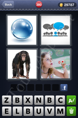 4 Pics 1 Word Level 380 Solution