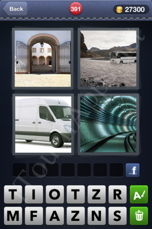 4 Pics 1 Word Level 391 Solution