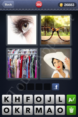 4 Pics 1 Word Level 392 Solution
