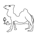 Badly Drawn Logos Camel
