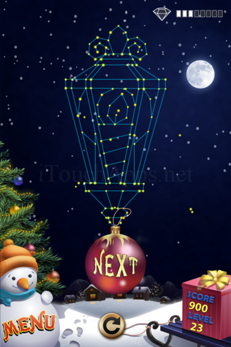 Pictorial Solution: 23 Level Christmas