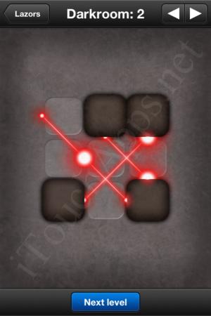 Lazors Darkroom 2 Solution