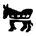 Badly Drawn Logos Democrat Party