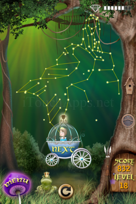 Pictorial Solution: 18 Level Fairy Forest