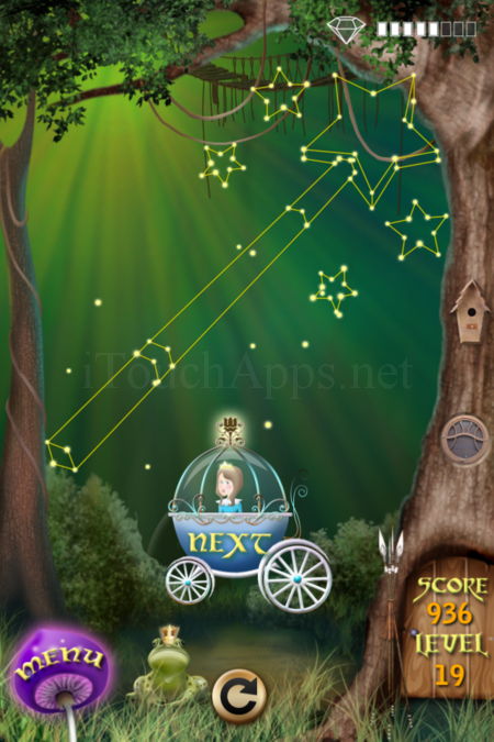Pictorial Solution: 19 Level Fairy Forest