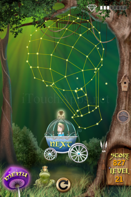 Pictorial Solution: 21 Level Fairy Forest