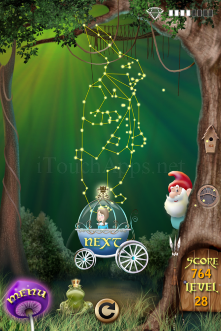 Pictorial Solution: 28 Level Fairy Forest