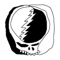 Badly Drawn Logos Grateful Dead