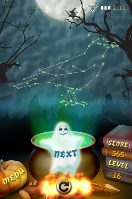 Pictorial Solution: 16 Level Helloween