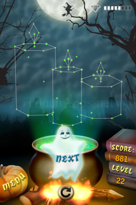 Pictorial Solution: 22 Level Helloween