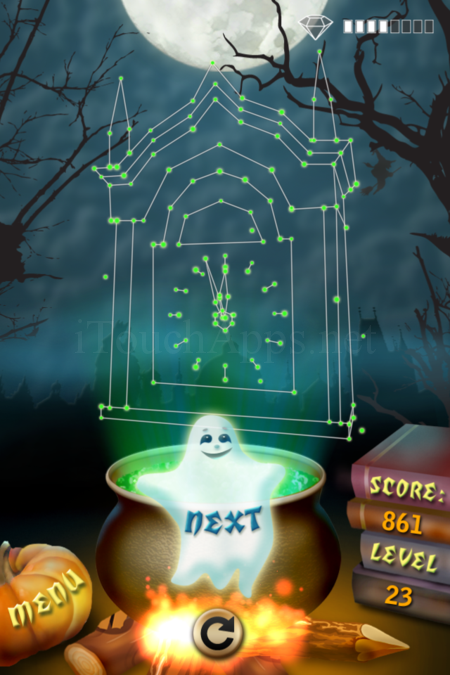 Pictorial Solution: 23 Level Helloween