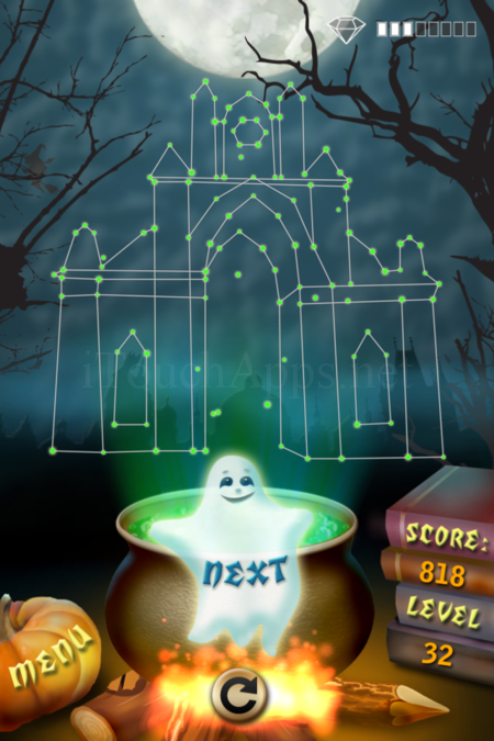 Pictorial Solution: 32 Level Helloween