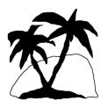Badly Drawn Logos Malibu Rum