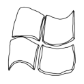 Badly Drawn Logos Microsoft Windows