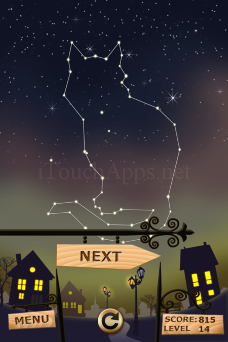 Pictorial Solution: 14 Level Night Town