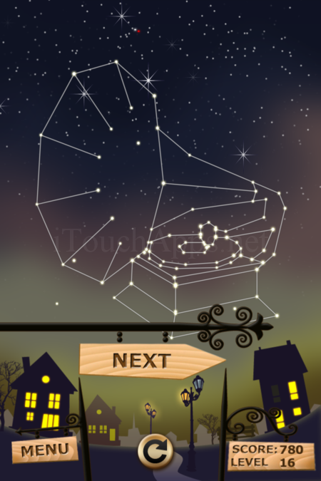 Pictorial Solution: 16 Level Night Town