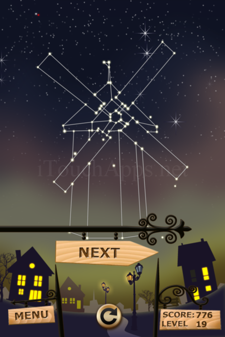 Pictorial Solution: 19 Level Night Town