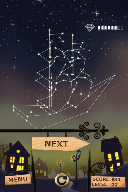 Pictorial Solution: 22 Level Night Town