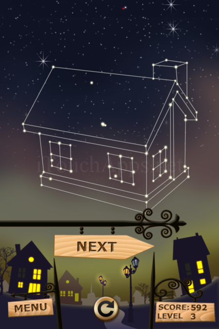 Pictorial Solution: 3 Level Night Town