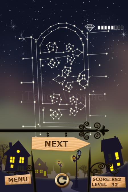 Pictorial Solution: 32 Level Night Town