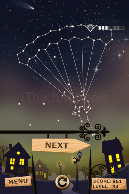 Pictorial Solution: 34 Level Night Town