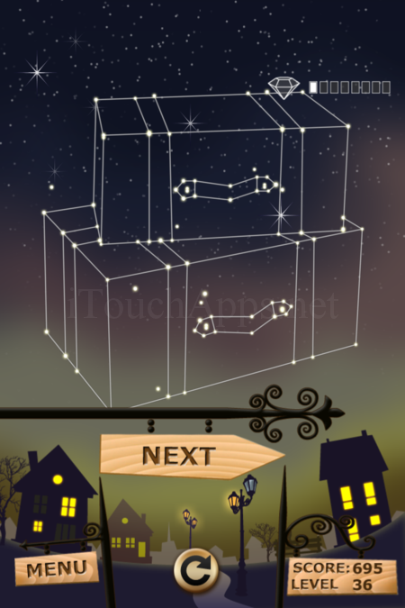 Pictorial Solution: 36 Level Night Town