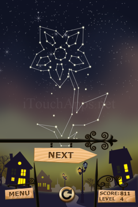 Pictorial Solution: 4 Level Night Town