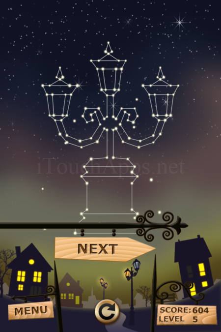 Pictorial Solution: 5 Level Night Town