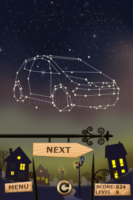 Pictorial Solution: 8 Level Night Town