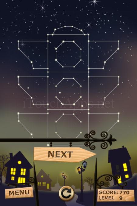 Pictorial Solution: 9 Level Night Town