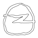 Badly Drawn Logos Opel