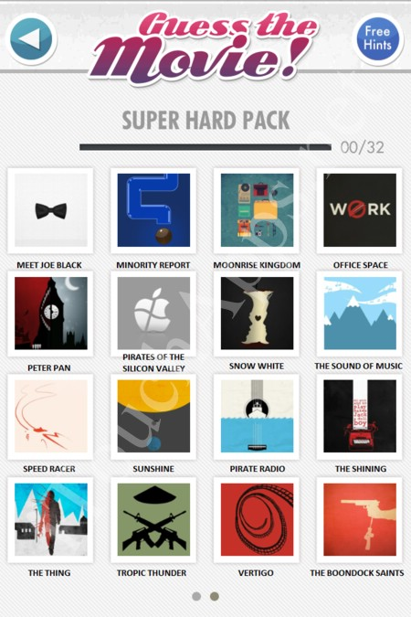 guess the movie super hard pack part 2 answers / solutions / cheat