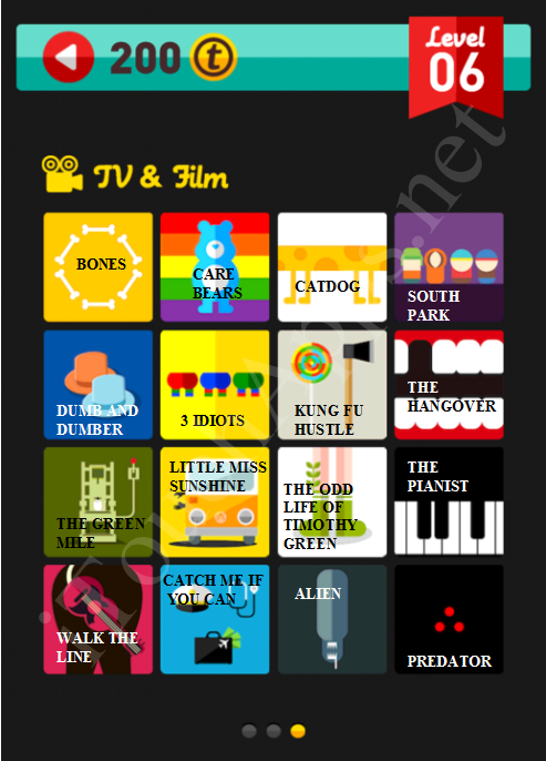 Icon Pop Quiz TV & Film Quiz Level 6 Part 3 Answers / Solutions