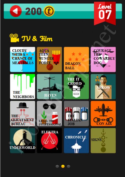 Icon Pop Quiz TV & Film Quiz Level 7 Part 2 Answers / Solutions