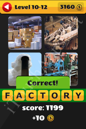 What's That Word Level 10-12 Solution