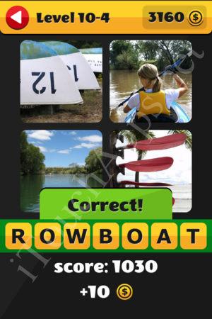 What's That Word Level 10-4 Solution
