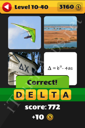 What's That Word Level 10-40 Solution