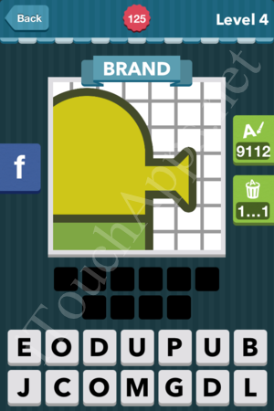 Icomania Level 125 Solution