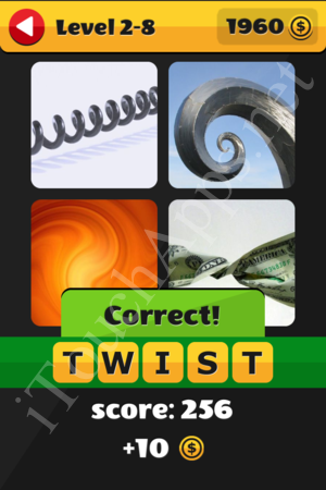 What's That Word Level 2-8 Solution