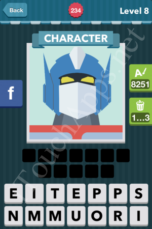 Icomania Level 234 Solution