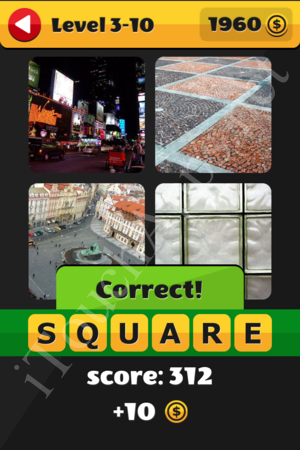 What's That Word Level 3-10 Solution