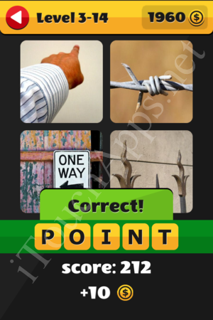 What's That Word Level 3-14 Solution