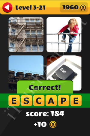 What's That Word Level 3-21 Solution