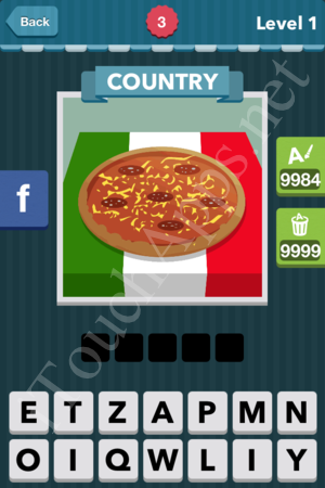 Icomania Level 3 Solution