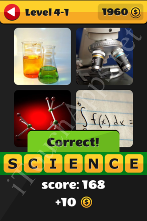 What's That Word Level 4-1 Solution
