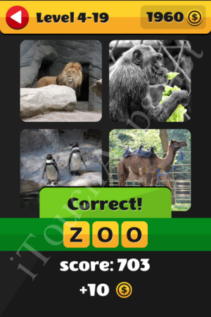 What's That Word Level 4-19 Solution