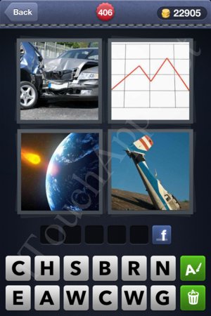 4 Pics 1 Word Level 406 Solution